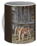 Horses By The Barn Sugarbush Farm Coffee Mug