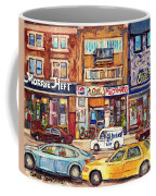 Morrie Heft Elizabeth Hager Le Chef Jj Joubert On Queen Mary Rd Stores C Spandau Montreal Coffee Mug