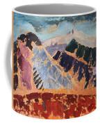 Mosaic Canigou Coffee Mug