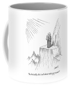 Moses Speaks To God Coffee Mug
