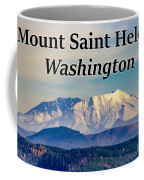 Mount Saint Helens Washington Coffee Mug