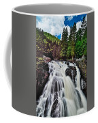 Mount Tremblant Waterfall Coffee Mug