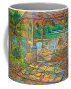 Mountain Lake Shadows Coffee Mug