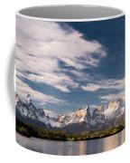 Mountain Range At Sunset Seen From Rio Coffee Mug