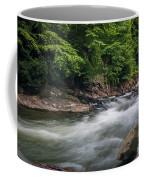 Mountain Stream In Summer #3 Coffee Mug by Tom Claud