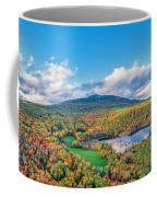 Mountain That Stands Alone Coffee Mug by Michael Hughes