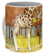 Ms Kitty And Her Giraffe  Coffee Mug