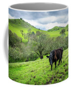 Mt. Diablo Spring Hillside Cattle Coffee Mug by Scott McGuire