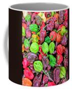 Multi Mini Hot Pepper Variety Coffee Mug