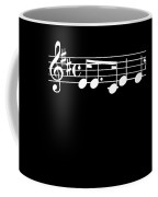 Music Notes Song Good Memory Musician Music Fan Gift Coffee Mug