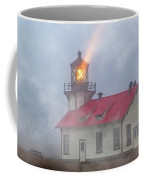 Mystical Point Cabrillo Lighthouse California Coffee Mug