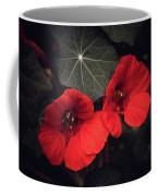 Nasturtium Drama Coffee Mug