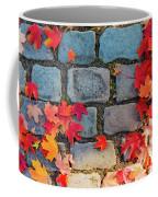 Natural Autumn Leaf Background  Coffee Mug