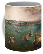 Naval Battle In The Gulf Of Naples Coffee Mug