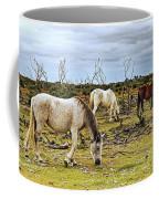 New Forest Ponies On The Heath Coffee Mug