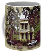 New Orleans Home In Watercolor Coffee Mug
