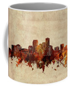 New Orleans Skyline Sepia Coffee Mug