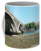 new road bridge across river Tweed at Berwick-upon-tweed Coffee Mug