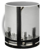 New York City From The Bridge #nyc #cityscape Coffee Mug