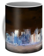 New York Skyline Illustration 1 Coffee Mug