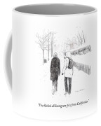 New York Snowstorm Coffee Mug