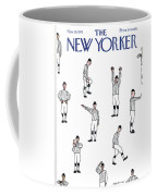 New Yorker November 19th, 1973 Coffee Mug by James Stevenson