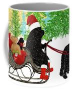 Newfoundland Dog Christmas Coffee Mug