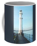 Newhaven Harbour Lighthouse Edinburgh Coffee Mug