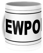Newport City Nameplate Coffee Mug
