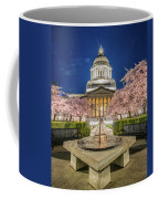 Night At The Capitol Coffee Mug