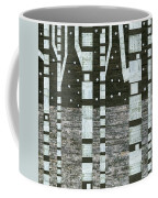 Night Birches Coffee Mug