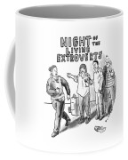 Night Of The Living Extroverts Coffee Mug