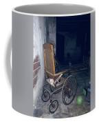 No One Ever Leaves Coffee Mug