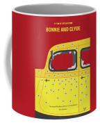 No1072 My Bonnie And Clyde Minimal Movie Poster Coffee Mug