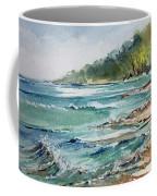 North Beach, Leland, Mi Coffee Mug