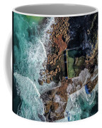 North Curl Curl Headland And Pool Coffee Mug by Chris Cousins