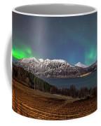 Northern Lights Over Grytoya Coffee Mug