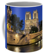 Notre Dame Cathedral Evening Coffee Mug by Jemmy Archer