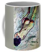 Woman Sleeper Nude Coffee Mug