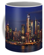 Nyc Sundown Gold And Twilight Skies Coffee Mug