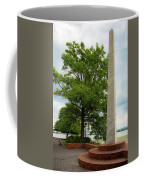 Obelisk In Tide Lock Park Coffee Mug by Lora J Wilson