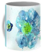 Oceanbreeze Blue-green Windflower Coffee Mug