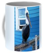 Oceanside Pelican Right  Coffee Mug