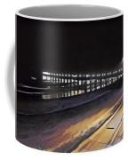 Oceanside Pier At Night  Coffee Mug