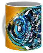 Ochre Fish Four Coffee Mug