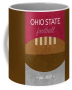 Ohio State Football Minimalist Retro Sports Poster Series 003 Coffee Mug