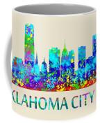 Oklahoma City Watercolor Coffee Mug