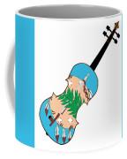 Oklahoma State Fiddle Coffee Mug