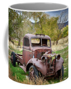 Old Abandoned Chevy Truck Coffee Mug