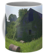 Old Barn And Hay Bales 2 Coffee Mug